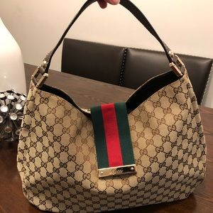 Gucci GG Canvas Hobo NWT PRICE IS FIRM